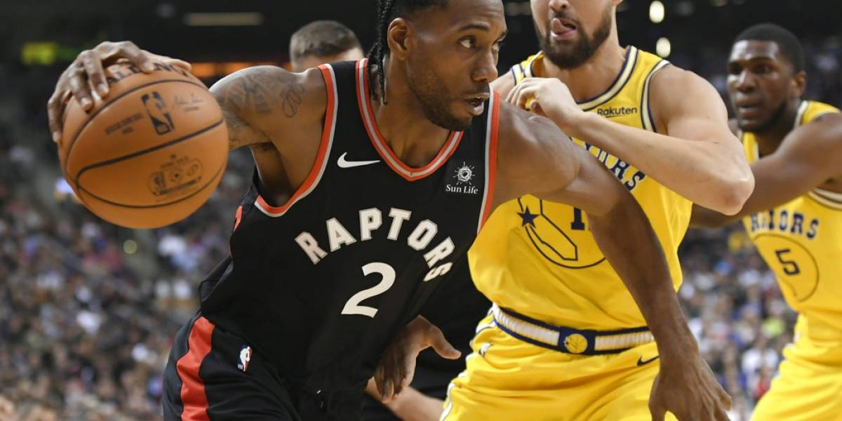 Raptors vencen131-128 a Warriors en tiempo extra