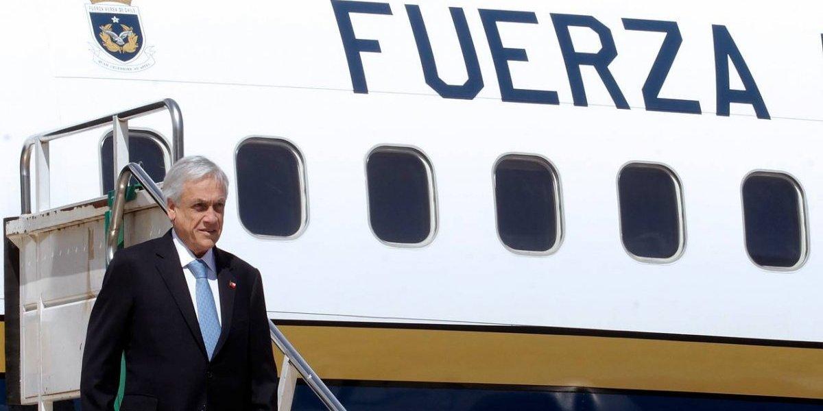 Piñera aprendió del error de Macron: se aseguró que lo esperaran en el aeropuerto
