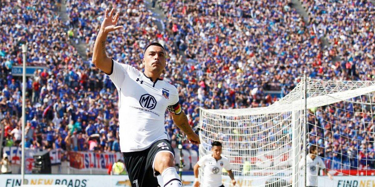 Mejor delantero centro: Esteban Paredes, los años no le pesan al goleador del Campeonato Nacional