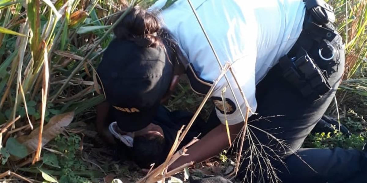 Abandonan a un bebé recién nacido en Pasaco, Jutiapa