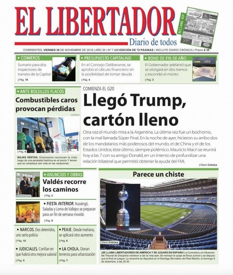 El Libertadores-Corrientes (Argentina)