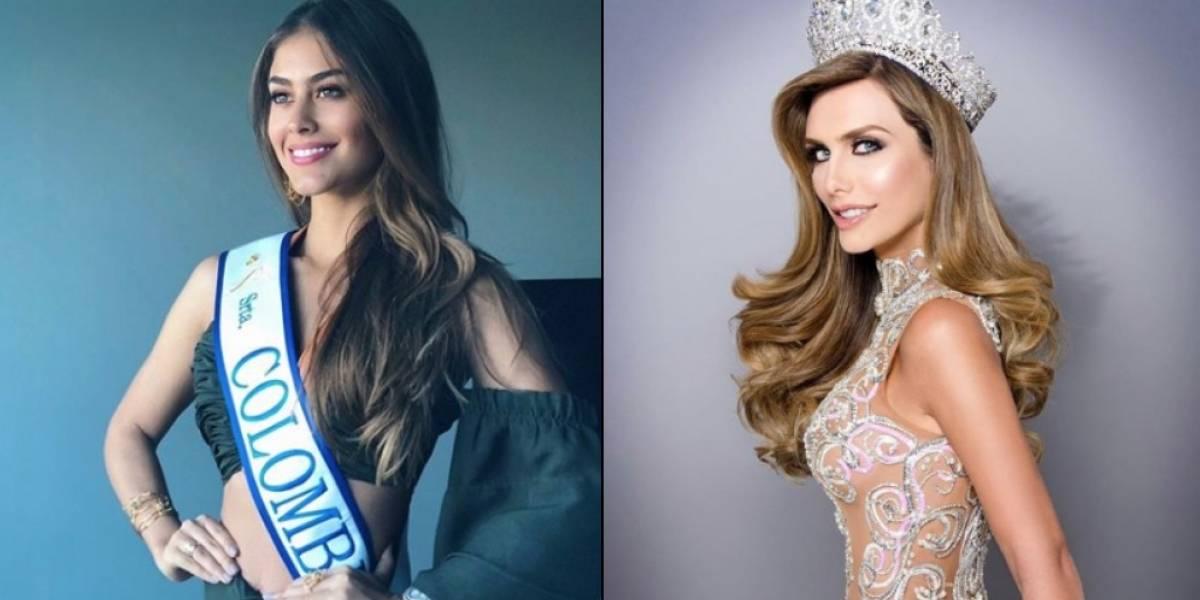 El saludo de Miss España a Colombia que generó controversia