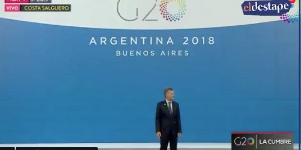 """""""Que nunca termine el G-20 por Dios"""": Trump plantó a Macri y lo hizo pasar incómodo momento al inicio de la cumbre"""