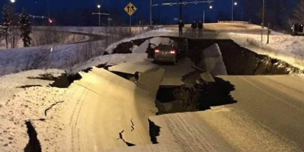 Terremoto de 7,0 remece a Alaska y emiten alerta de tsunami para zona afectada: Shoa descarta posibilidad de maremoto en costas chilenas