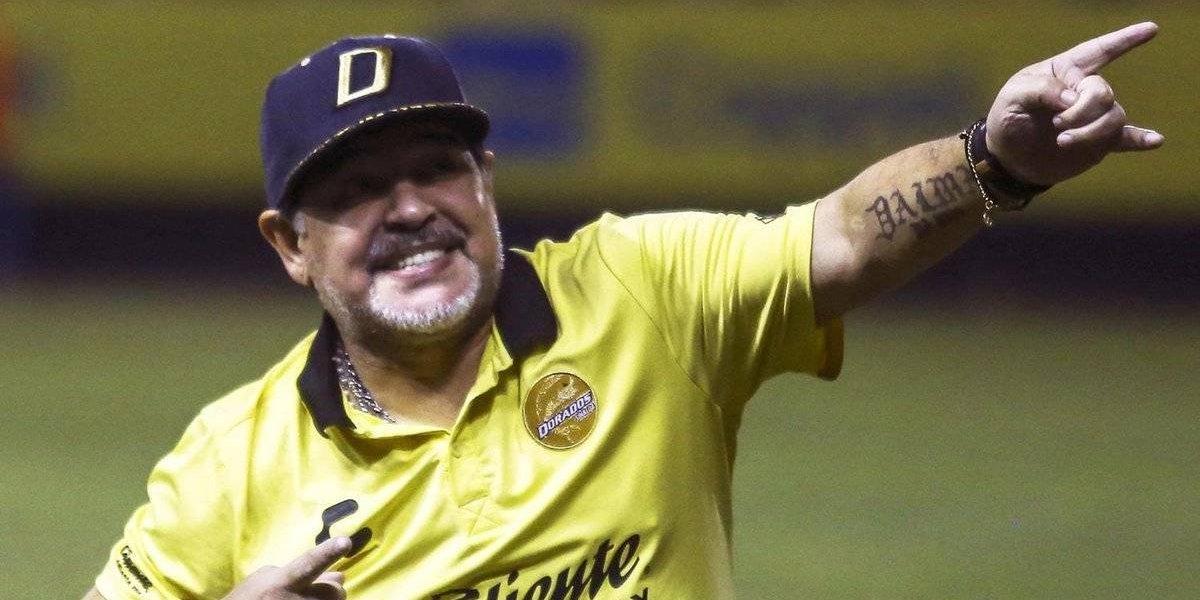 """Maradona elogió el debut de Martino en México: """"Hacerle tres goles a Chile es algo sorprendente"""""""