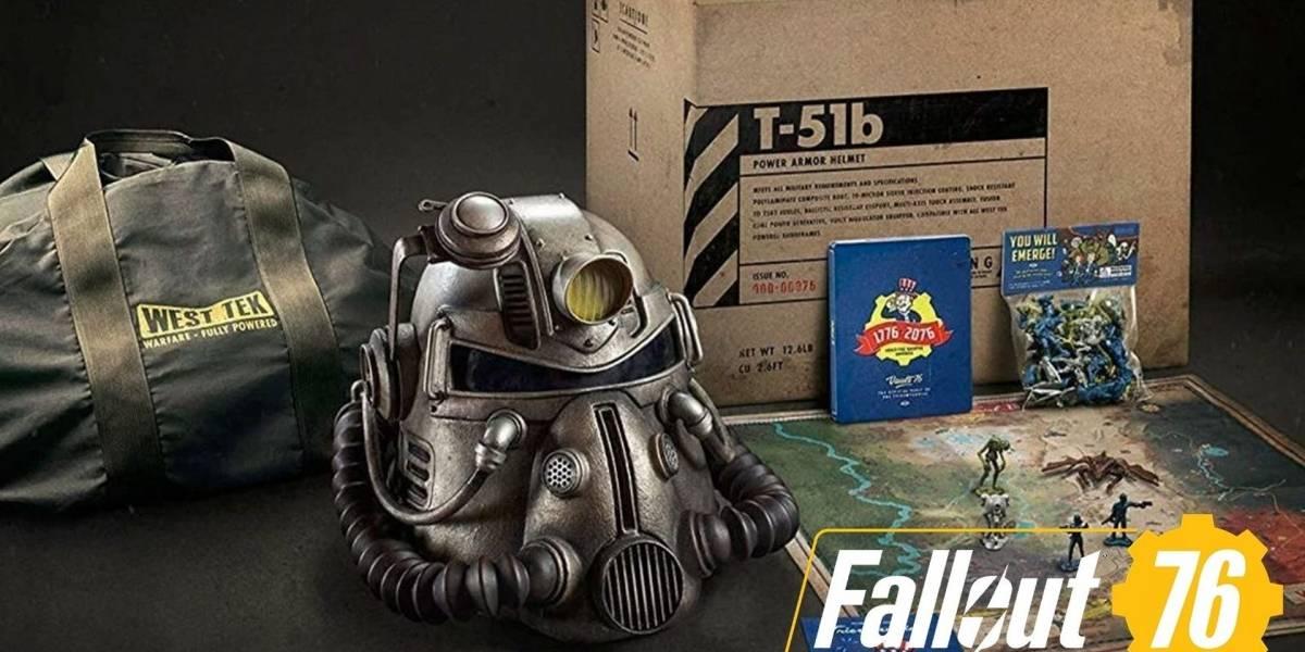 Los fans no están contentos con la calidad de la edición especial de Fallout 76