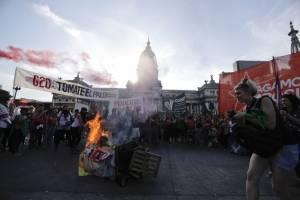 Manifestación contra G20