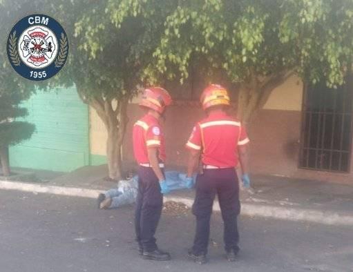 hombre fallecido en zona 5 de Mixco