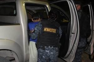 operativo contra drogas en Zacapa