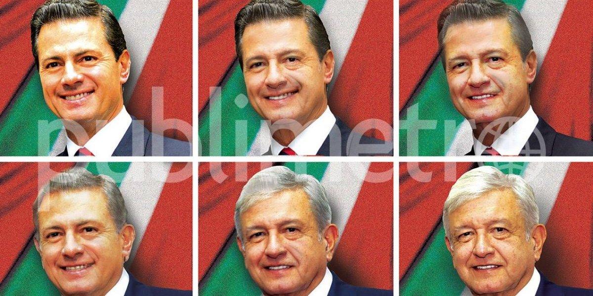 Así entrega Peña Nieto el país a Andrés Manuel López Obrador