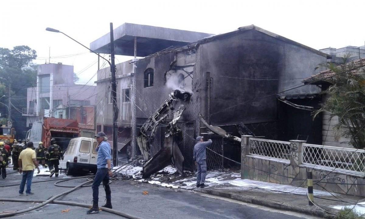 Fogo foi controlado rapidamente pelo Corpo de Bombeiros BandNews FM