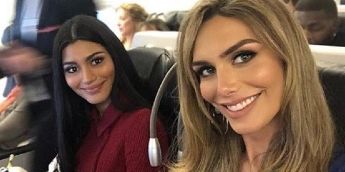 Miss España llega a Tailandia para Miss Universo 2018
