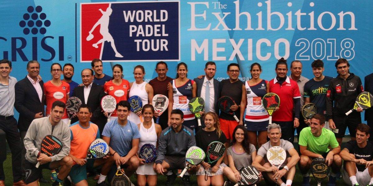 México recibirá a las máximas figuras del World Padel Tour 2018
