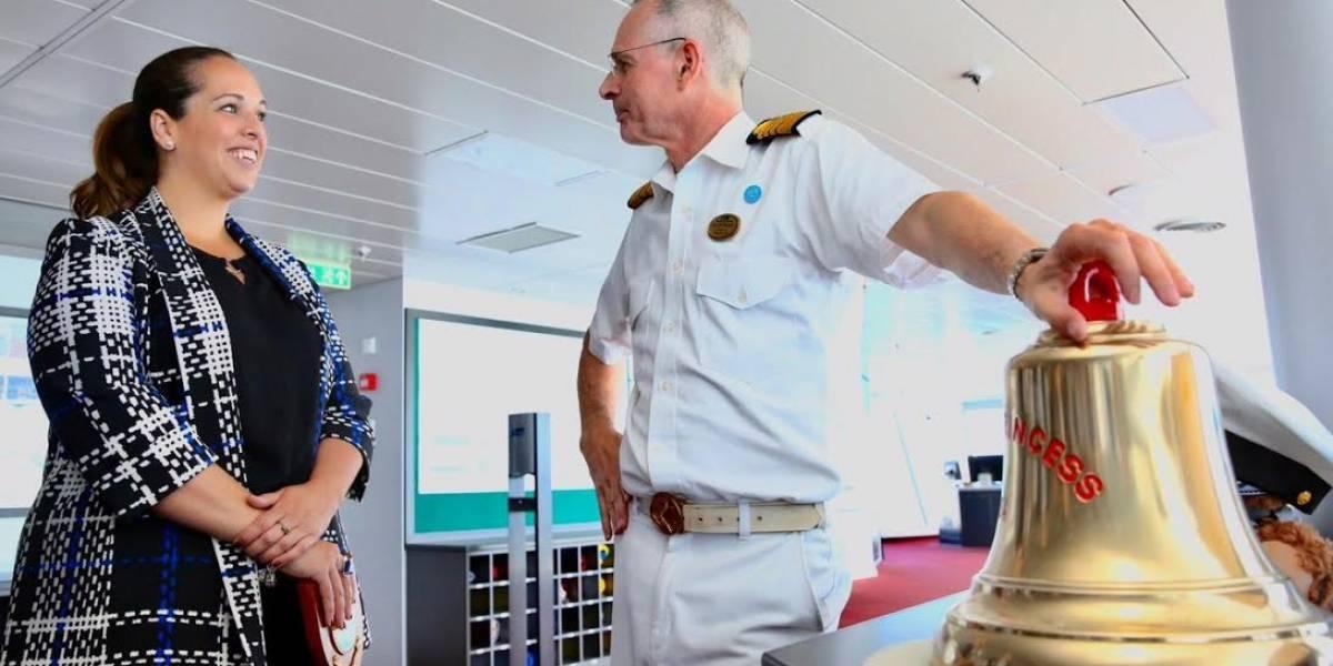 Por primera vez llega a Puerto Rico lujoso crucero