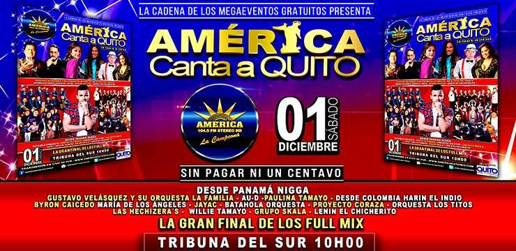 América Canta a Quito
