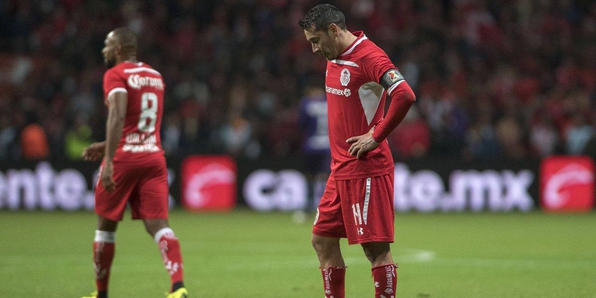 Toluca ha sido subcampeón cada cambio de sexenio en México