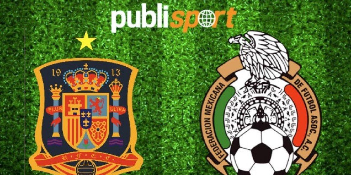 España le gana a México en la Final de Uruguay 2018