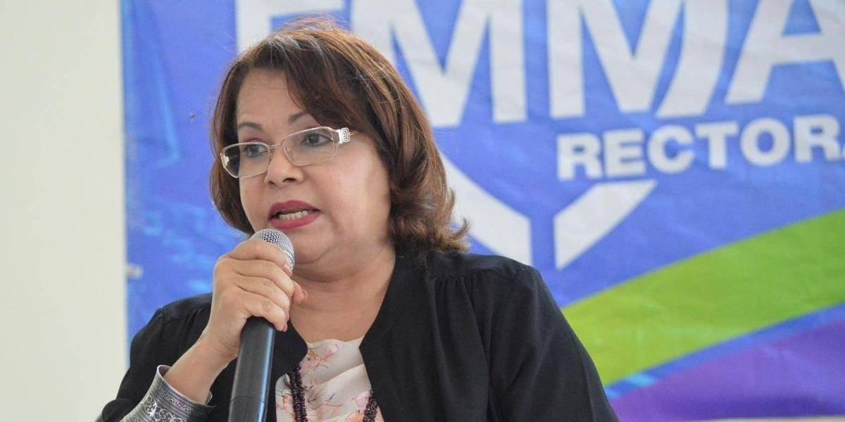Emma Polanco reitera llamado al Congreso para que incremente presupuesto a la UASD