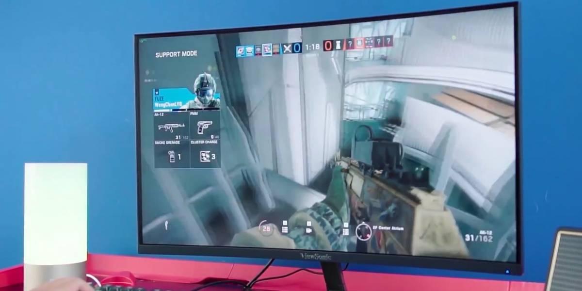 Pantalla curva y pensada para gamers: así es el monitor top de Viewsonic