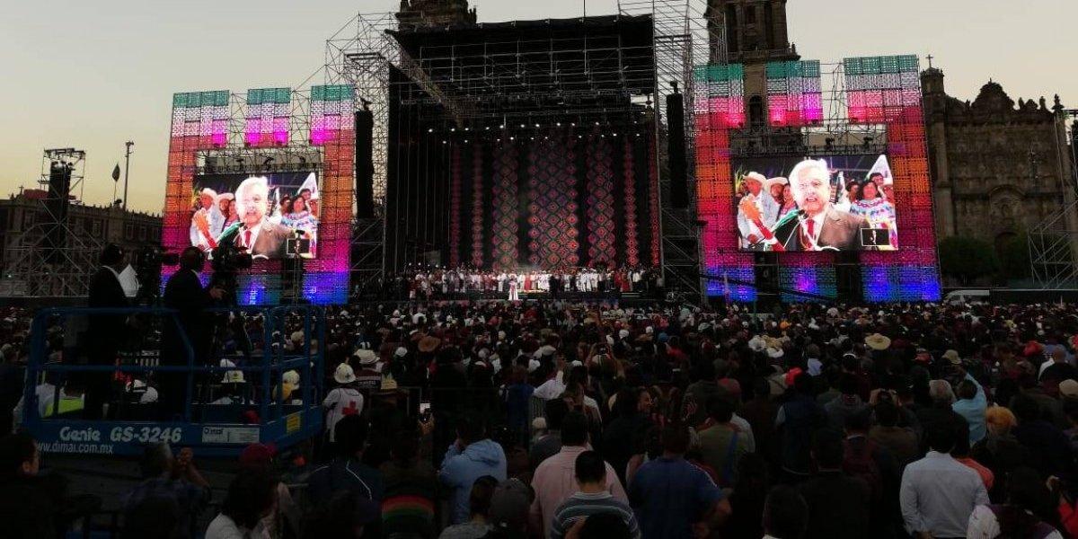 Rendirá AMLO cuentas al pueblo cada año en el Zócalo