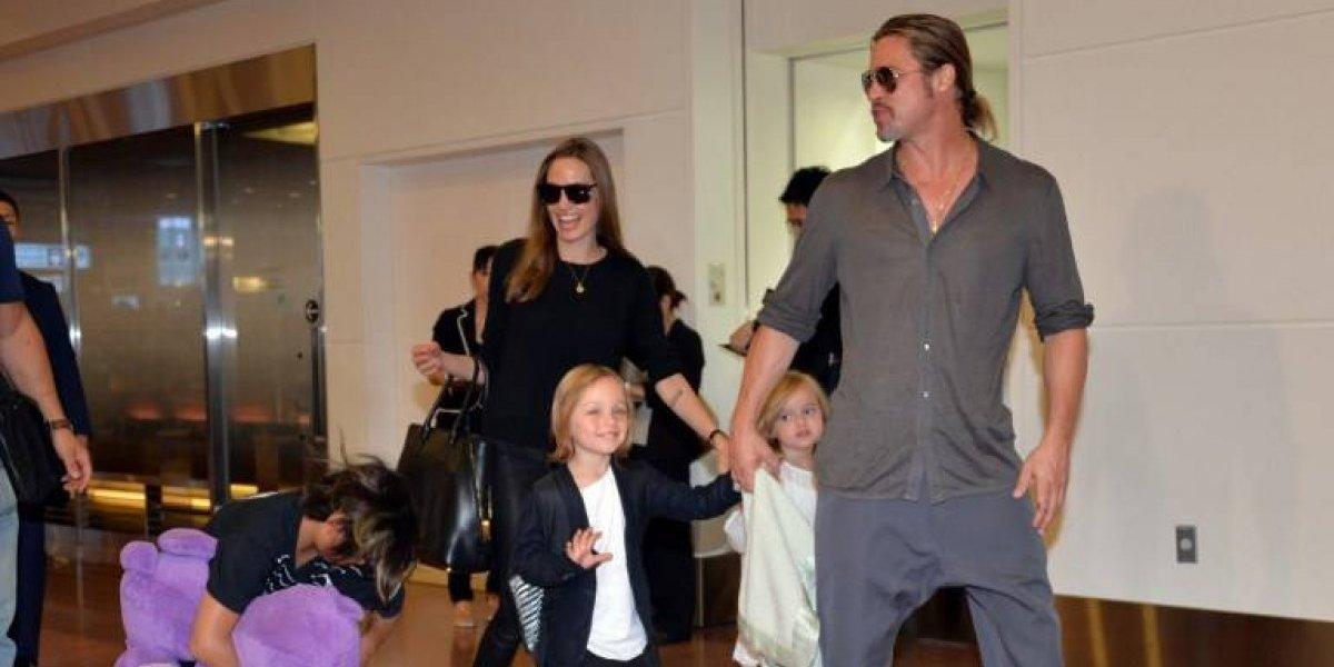 Brad Pitt y Angelina Jolie sellan un acuerdo por la custodia de sus hijos