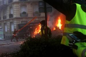 Protestas en París, Francia