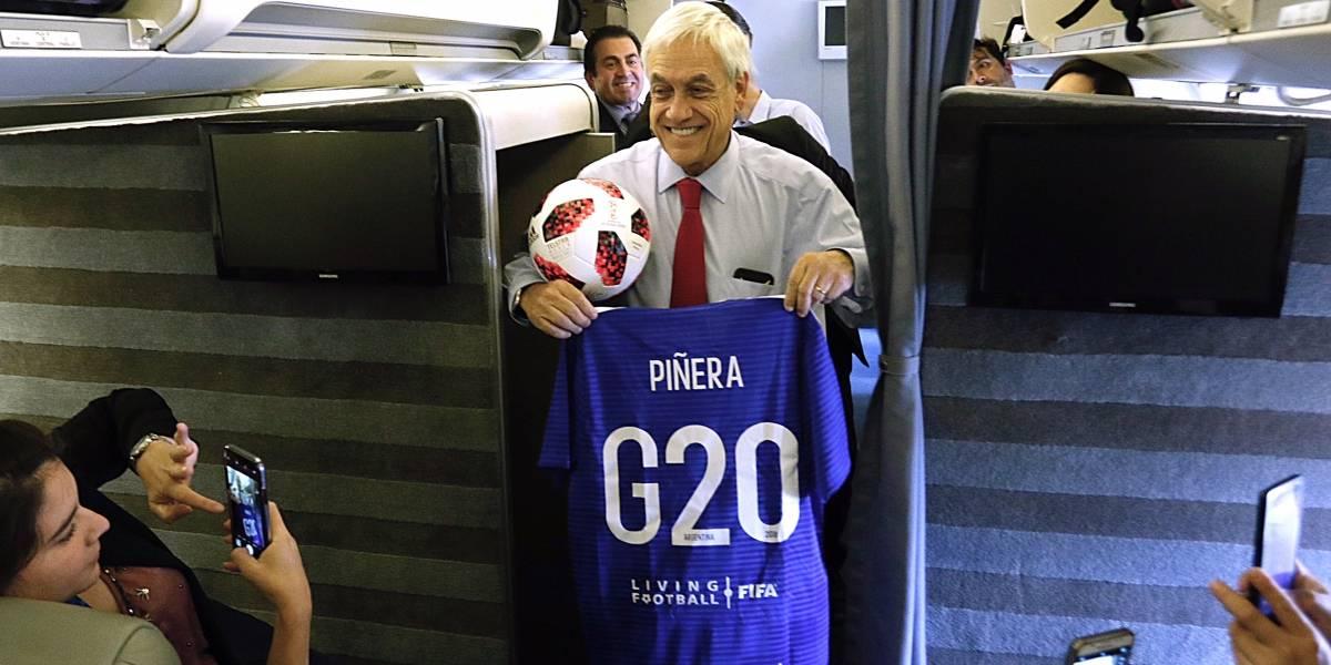 Presidente Piñera viaja desde Argentina para estar en el cierre de la Teletón
