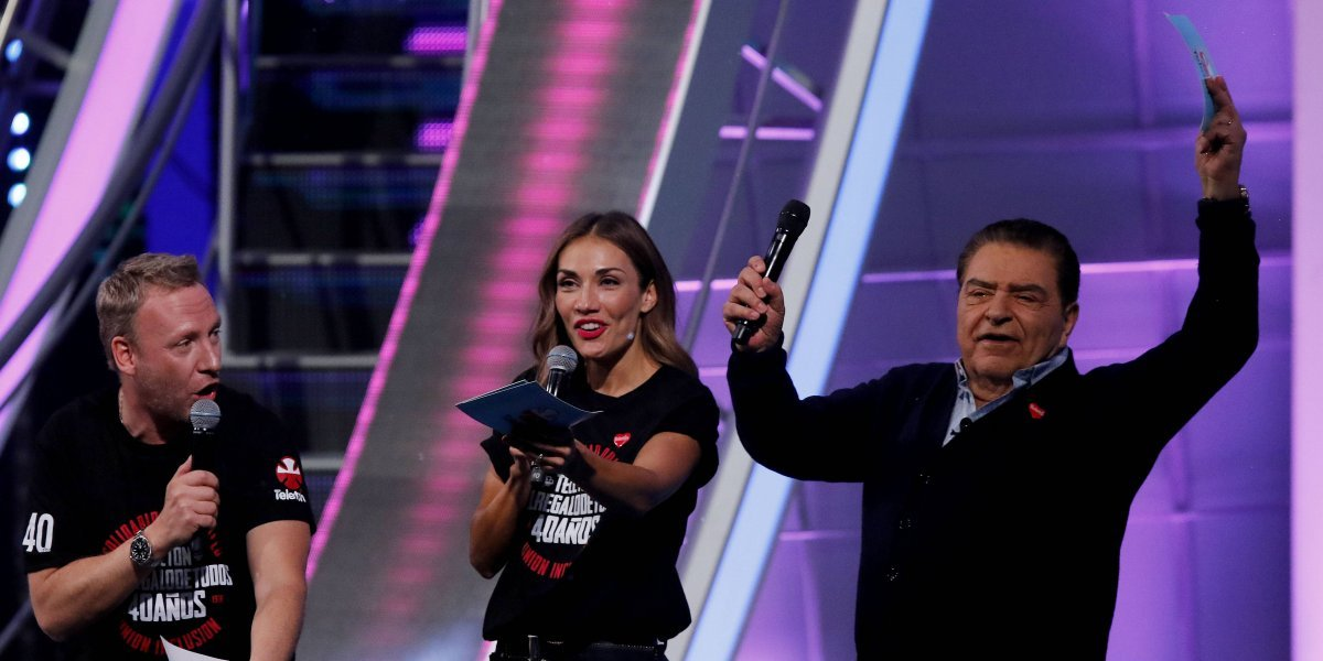 En nueve horas, Teletón recaudó más de 5 mil 888 millones de pesos