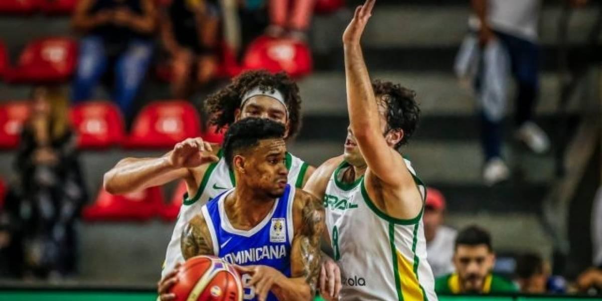Brasil vence a RD 100-82 y queda a un triunfo de ir al Mundial