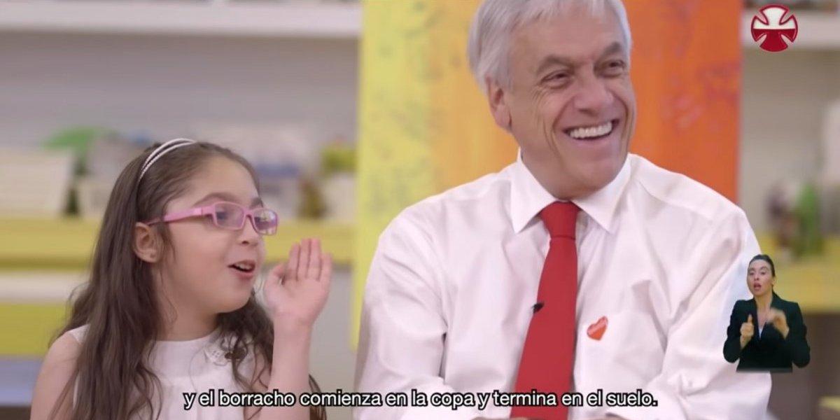 Las colaboraciones humorísticas de Piñera en la Teletón
