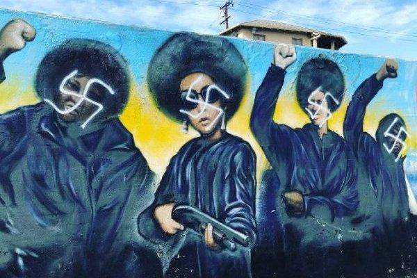 Mural Los Angeles - Black Panthers