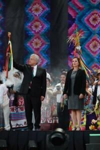 Ceremonia entrega de Bastón de Mando