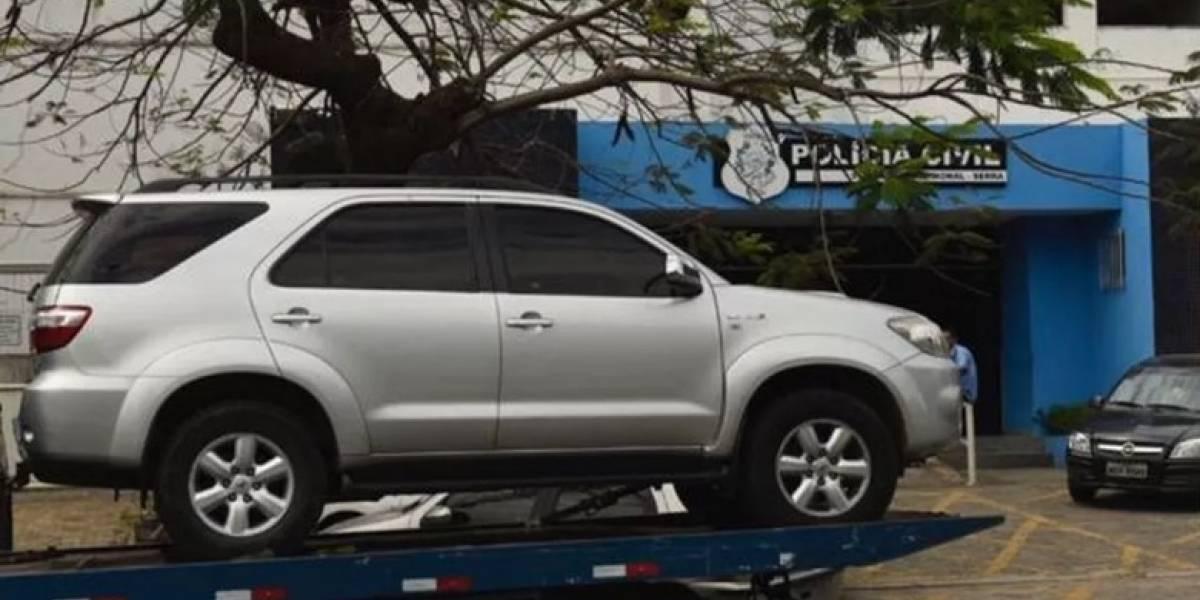 Governador do ES tem carro roubado pela segunda vez em menos de um ano