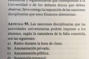 Estatutos de la Universidad de San Carlos.