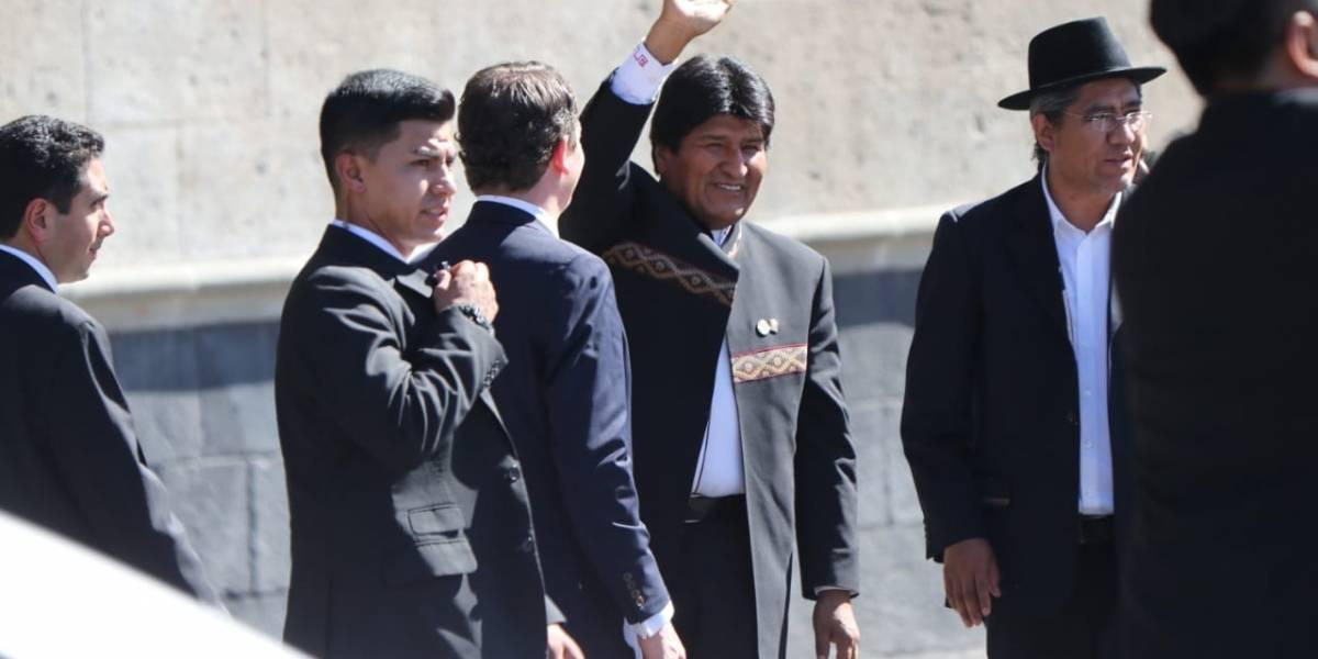 Presidente Evo Morales presenta primer auto eléctrico construido en Bolivia