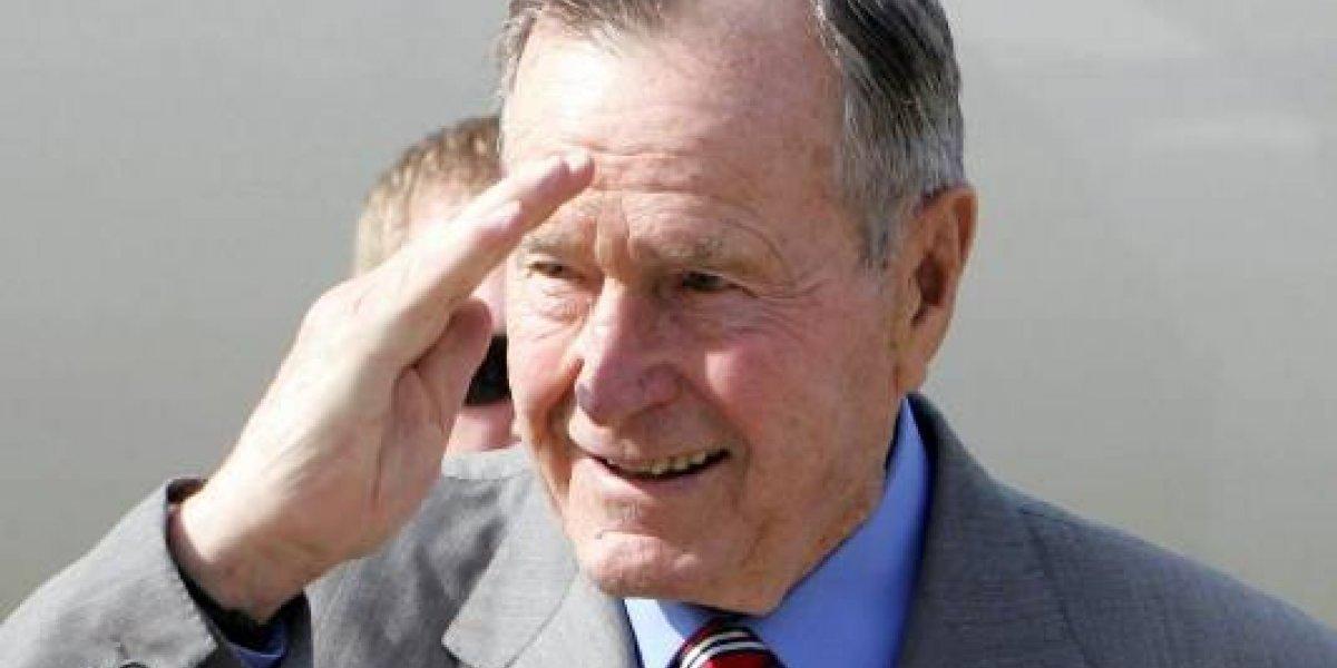 Homenajes al expresidente estadounidense George H.W. Bush