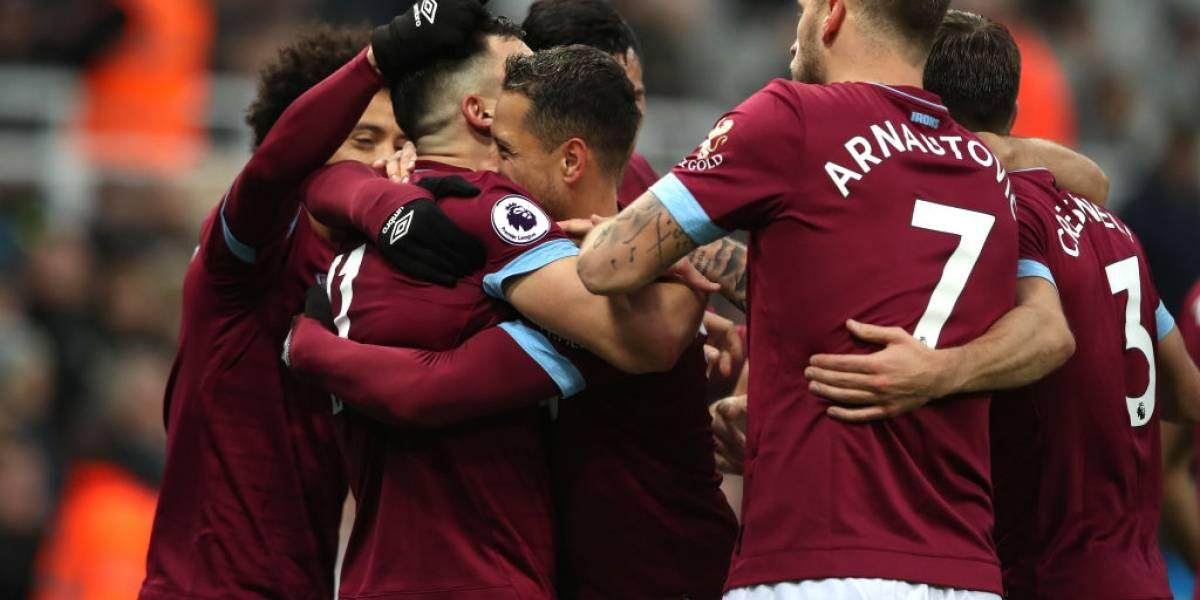 West Ham de Manuel Pellegrini vuelve a los festejos tras golear a domicilio a Newcastle