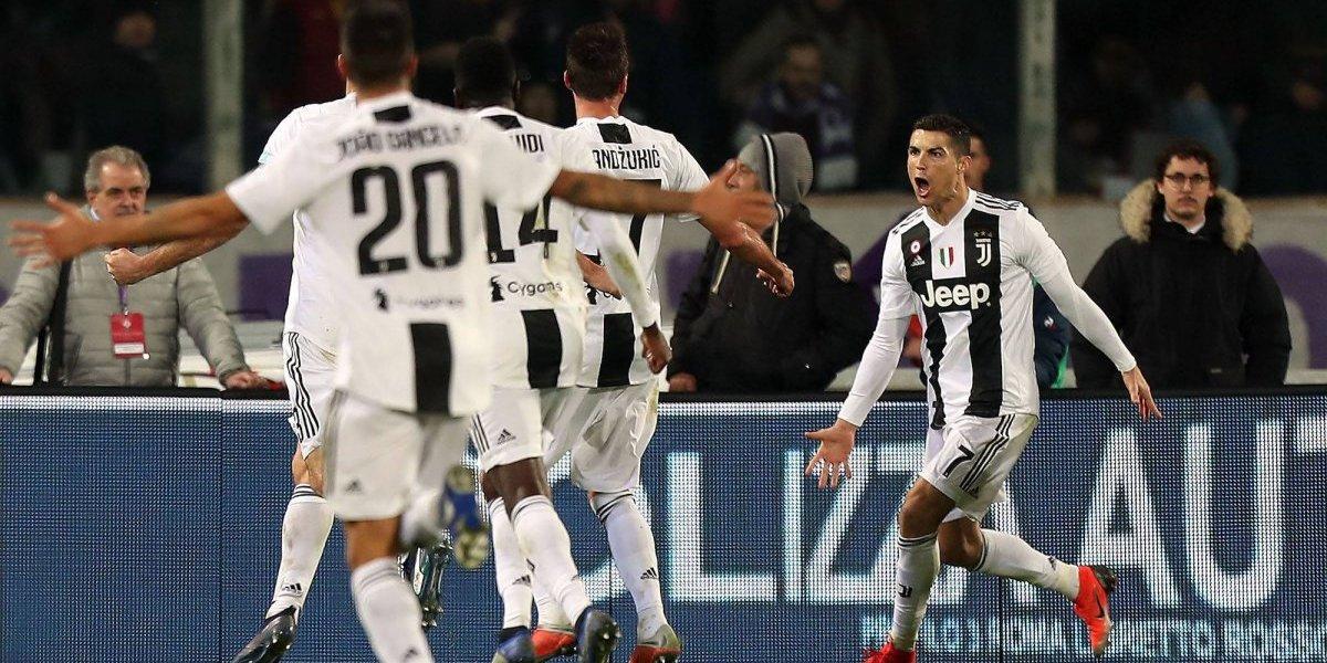 VIDEO: CR7 anota en la victoria de la Juventus