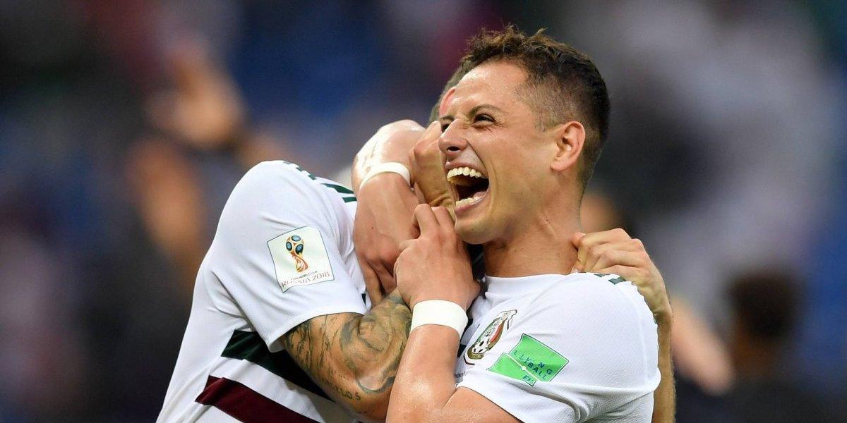 VIDEO: El día en que AMLO celebró el gol de 'Chicharito' en Rusia 2018