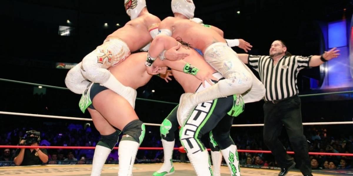 Guerrero Laguneros defienden título de leyendas en el CMLL