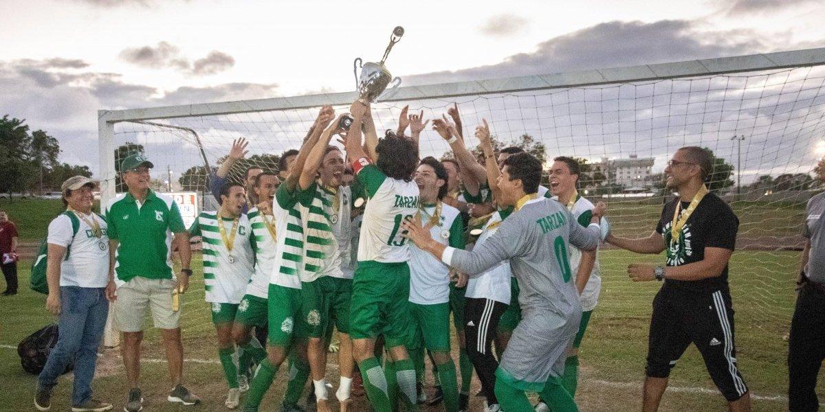 Tarzanes del RUM se coronan tricampeones del fútbol LAI
