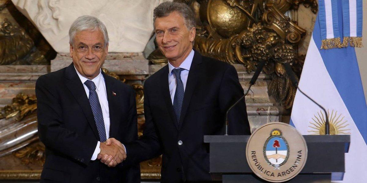 Cumpleaños 69 de Piñera no pasó inadvertido: Macri lo sorprendió con una torta en plena Cumbre G-20