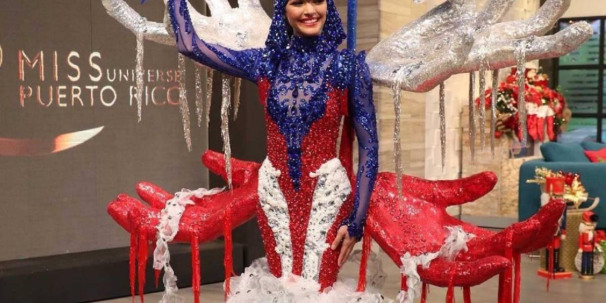 Traje típico de Miss Puerto Rico recibe burlas con creativos memes