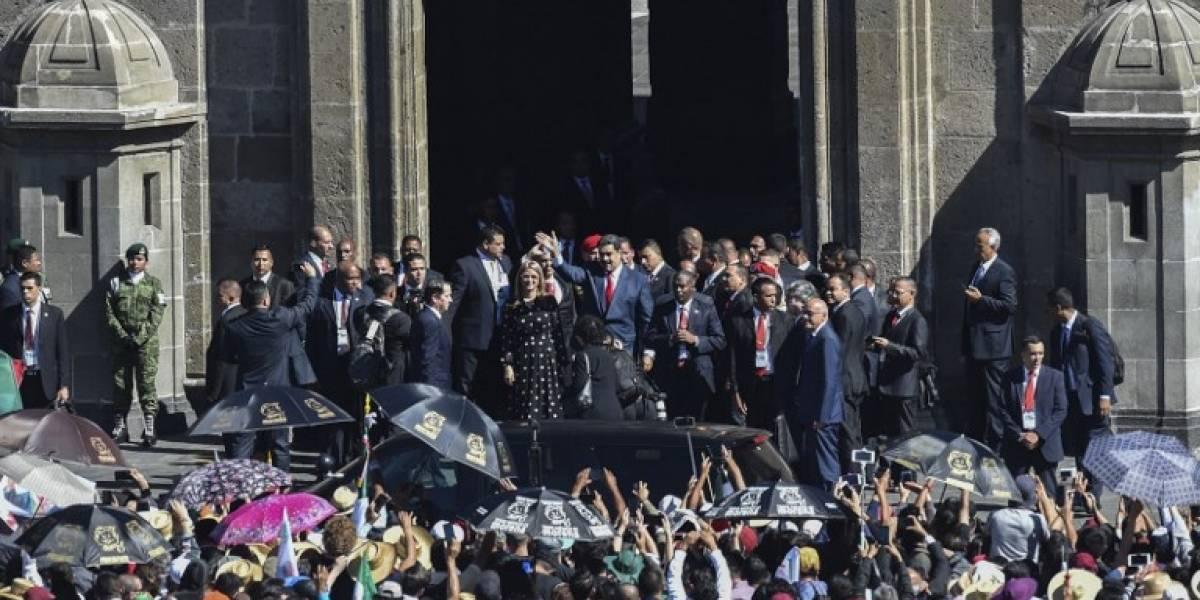 VIDEO. Nicolás Maduro es abucheado en toma de posesión de López Obrador