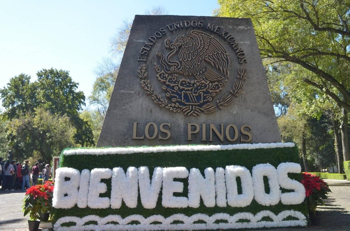 Los Pinos formarán parte del Bosque de Chapultepec. Foto Ingrid Avecilla