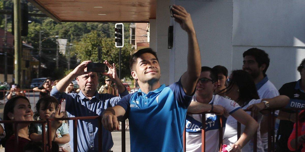 """La UC es pura confianza en Temuco: """"Estuvimos aquí para el final de 2016 y esperemos que ahora termine de igual manera"""""""