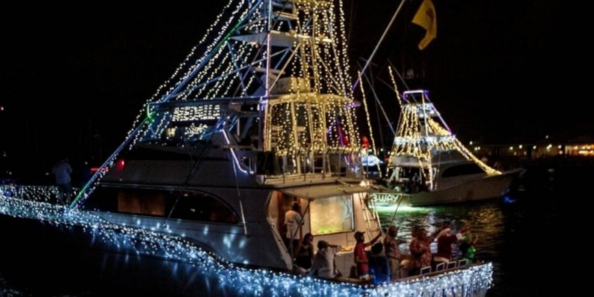Vestirán la bahía de San Juan con el espíritu navideño