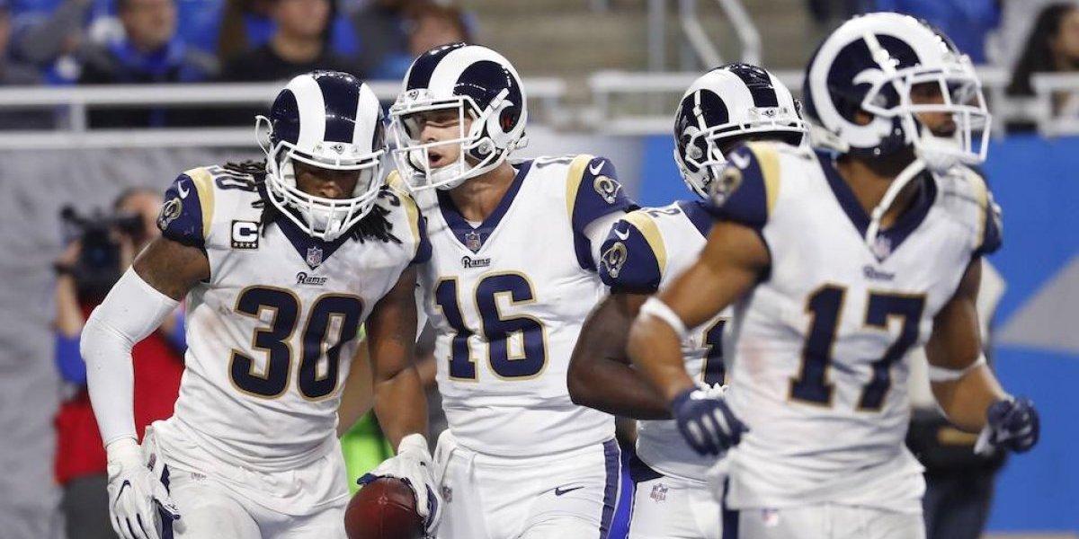 Rams aseguran título de la División Oeste