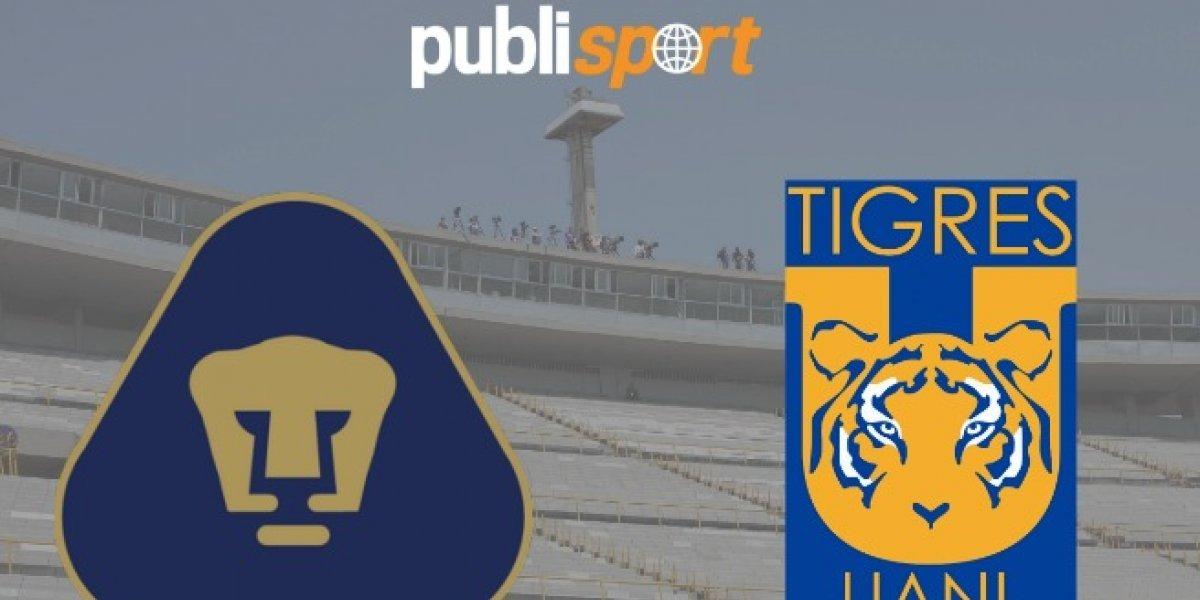 Pumas derrota a Tigres y es semifinalista