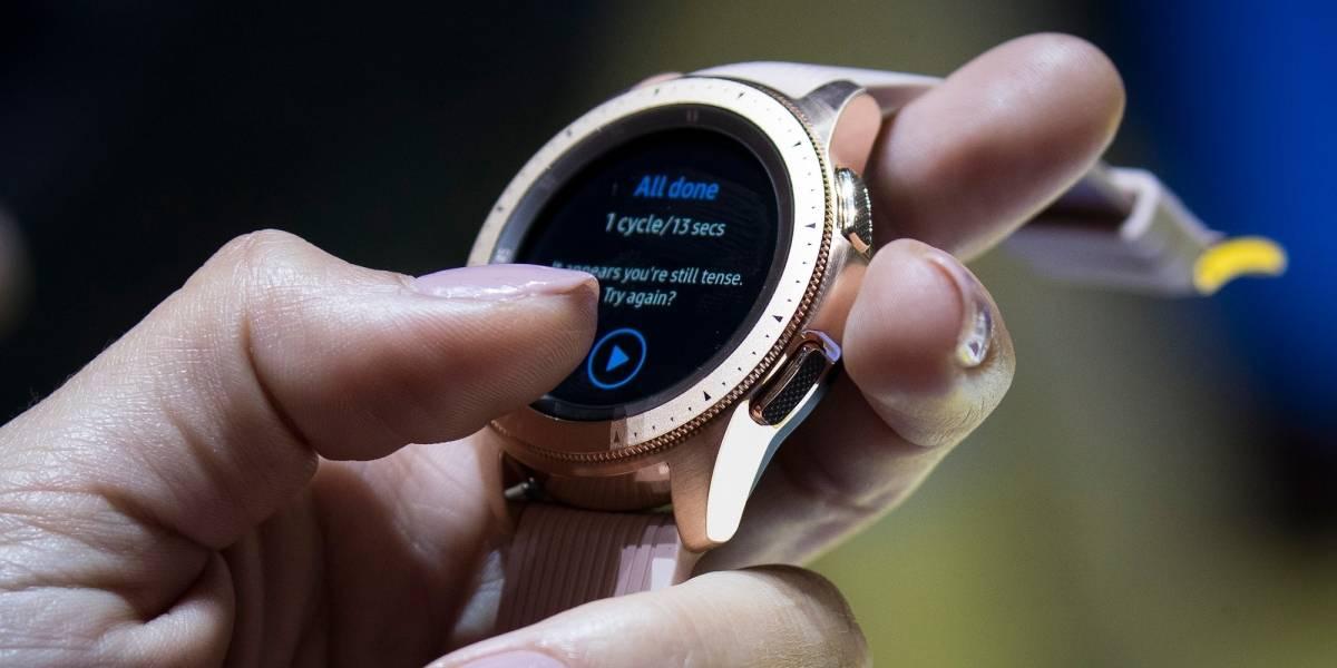 Galaxy Watch es la suma de muchos años de diseño de smartwatches